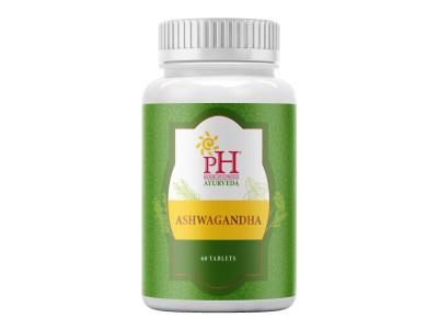 PH Ayurveda Ashwagandha 60 tablets