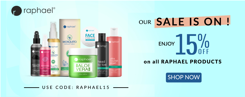 Raphael 15% OFF