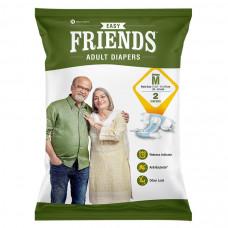 Friends Adult Diapers Medium (Pack of 2)