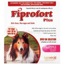 Fiprofort Plus Kills Fleas.flea Eggs & Ticks 4.02 Ml