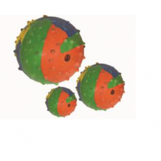 Super Dog Rubber Bell Ball Small (Pt028)