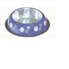 Super Dog Steel Coloured Bowl Size-1 No. (Pu012)