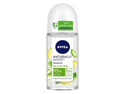 Nivea Naturally Good Bio Aloe Vera Roll On 50 ml