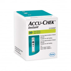 Accu-chek Instant Glucose Test Strips (Pack of 50)