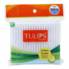 Tulip Cotton Buds In Resealable Bag (Pack of 100)