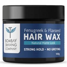 Bombay Shaving Company Hair Wax Fenugreek & Flaxseed 100 Gm