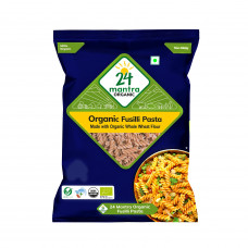 24 Mantra Organic Fusilli Pasta 400 Gms