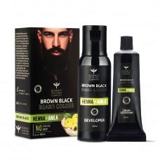 Bombay Shaving Company Natural Black Beard Colour 60 ml