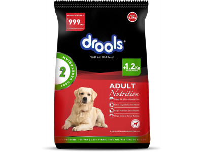 Drools 100% Veg Adult - 6.5 kg