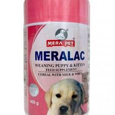 Meralac Weaning Puppy & Kitten Feed Powder - 400 gm