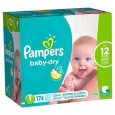 Pampers Medium Dry Pant Diapers (Pack of 8)
