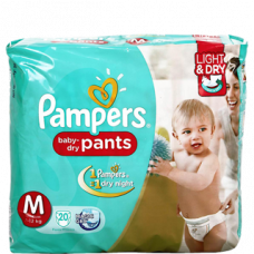 Pampers Pants XL Diapers (Pack of 16)