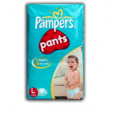 Pampers Dry Pants Large 9-14 kg Diapers (Pack of 8)